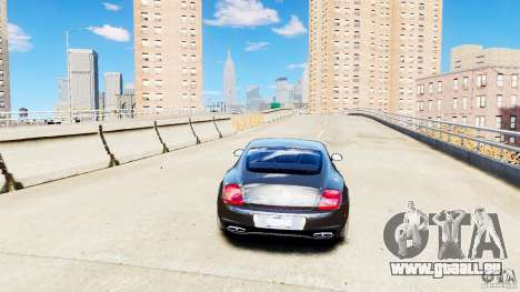 Bentley Continental SuperSports v2.5 für GTA 4 Rückansicht