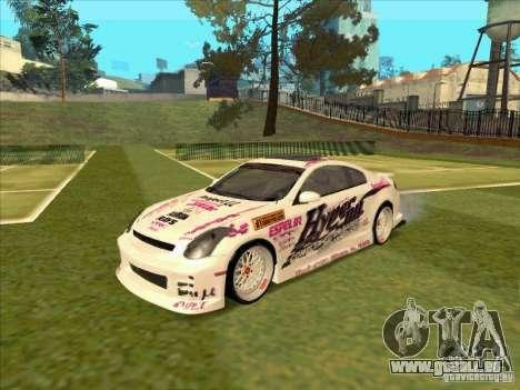 Infiniti G35 Top Secret pour GTA San Andreas