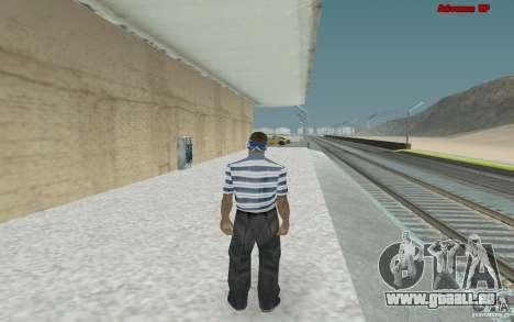 Neue Skins für Bande Varios Los Aztecas für GTA San Andreas her Screenshot