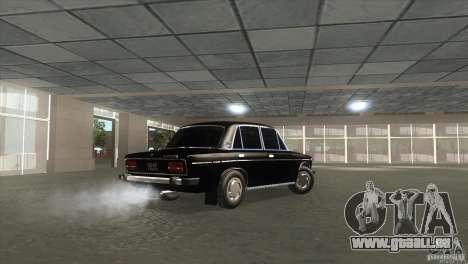 2103 Vaz pour GTA San Andreas sur la vue arrière gauche