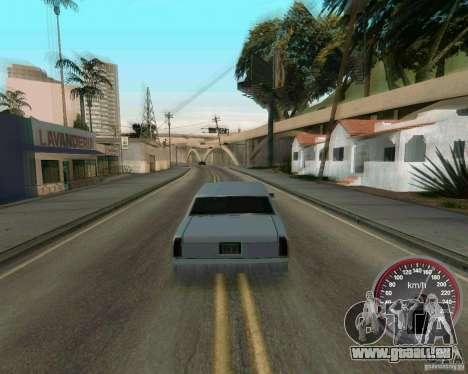Nouveau compteur de vitesse pour GTA San Andreas