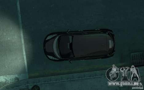 Nissan Leaf 2011 pour GTA 4 est une vue de l'intérieur