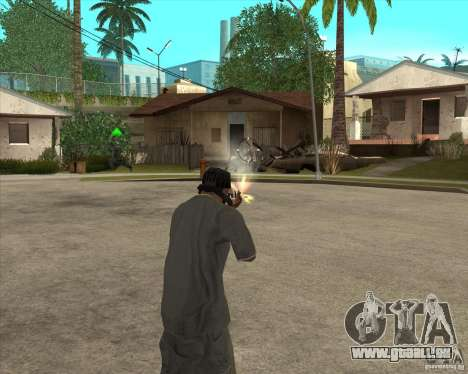 Gta IV weapon anims pour GTA San Andreas deuxième écran