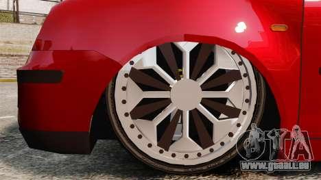 Volkswagen Polo Edit pour GTA 4 Vue arrière