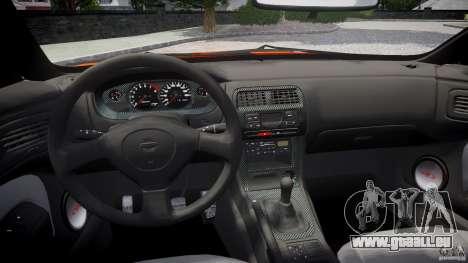 Nissan Silvia Ks 14 1994 v1.0 für GTA 4 obere Ansicht