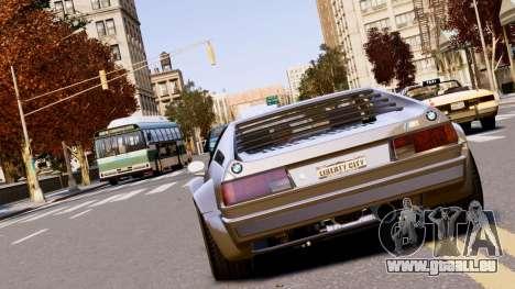 BMW M1 EPM v2.0 pour GTA 4 Vue arrière de la gauche