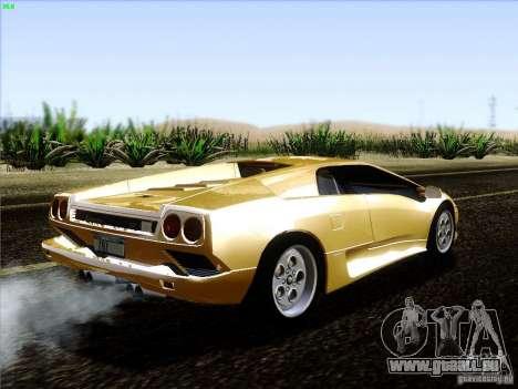 Lamborghini Diablo VT 1995 V3.0 für GTA San Andreas rechten Ansicht