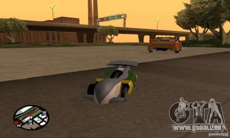 Véhicules RC pour GTA San Andreas huitième écran