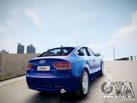 Audi A5 Sportback pour GTA 4 est une gauche