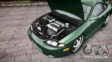 Mitsubishi Eclipse 1998 pour GTA 4 Vue arrière