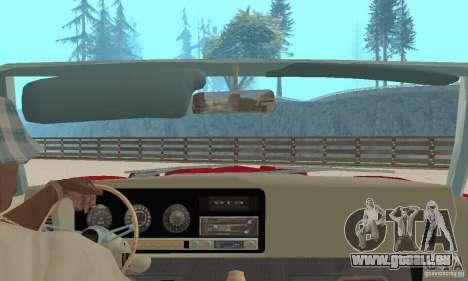 Pontiac GTO The Judge Cabriolet für GTA San Andreas Innenansicht
