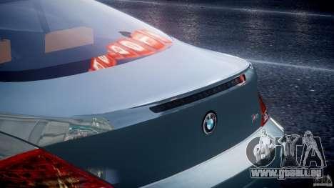 BMW M6 G-Power Hurricane für GTA 4 Unteransicht