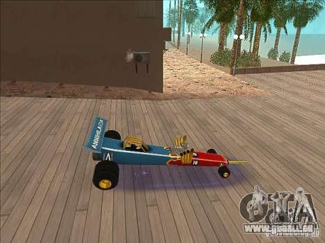 Dragg car für GTA San Andreas linke Ansicht