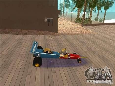 Dragg car pour GTA San Andreas laissé vue