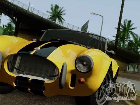 Shelby Cobra 427 für GTA San Andreas linke Ansicht