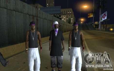 The Ballas Gang [CKIN PACK] für GTA San Andreas
