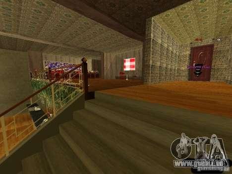 Bistro de Marco intérieur nouveau pour GTA San Andreas quatrième écran