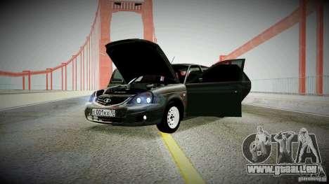 Lada Priora pour GTA San Andreas laissé vue