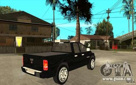 Dodge Ram 2500 2008 für GTA San Andreas rechten Ansicht