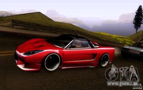 Honda NSX VielSide Cincity Edition für GTA San Andreas zurück linke Ansicht