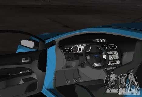 Ford Focus RS 2009 für GTA Vice City Rückansicht
