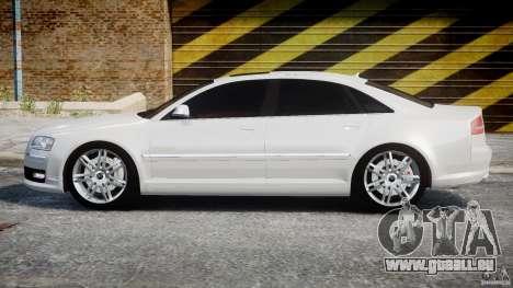 Audi S8 D3 2009 für GTA 4 linke Ansicht