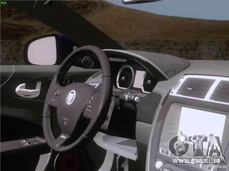 Jaguar XKR-S 2011 V2.0 für GTA San Andreas Innen