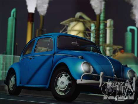 Volkswagen Beetle 1967 V.1 pour GTA San Andreas