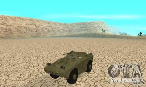 BRDM-1 Skin 1 für GTA San Andreas linke Ansicht