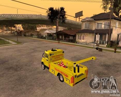 Transporteur de ZIL 5301 Bull pour GTA San Andreas laissé vue
