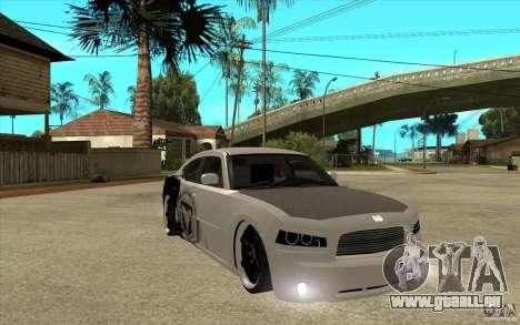 Dodge Charger SRT8 Tuning für GTA San Andreas Rückansicht