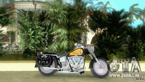 Harley Davidson FLSTF (Fat Boy) für GTA Vice City linke Ansicht