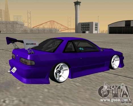 Nissan Silvia S13 Nismo tuned pour GTA San Andreas laissé vue
