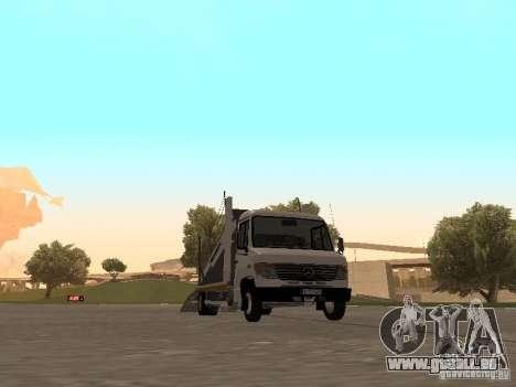 Mercedes-Benz Vario für GTA San Andreas linke Ansicht