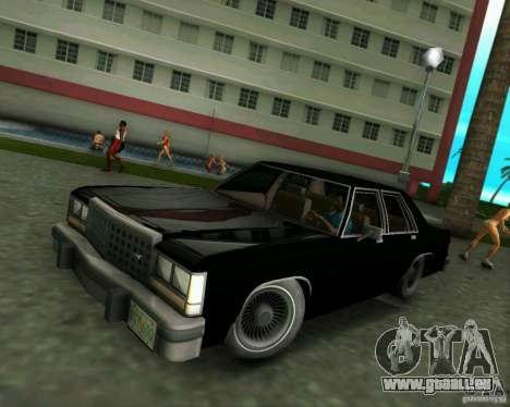 Ford Crown Victora LTD 1985 pour GTA Vice City