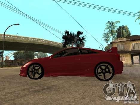 Toyota Celica Veilside für GTA San Andreas linke Ansicht