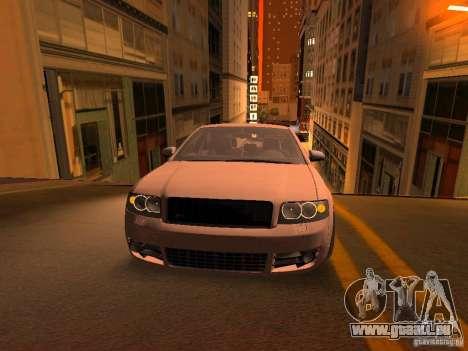 Audi S4 OEM pour GTA San Andreas vue de dessous