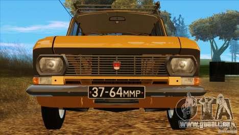 Moskvitch 412 v2.0 pour GTA San Andreas vue de côté