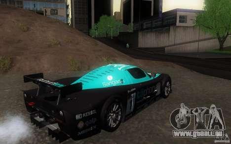 Maserati MC12 GT1 für GTA San Andreas Innenansicht