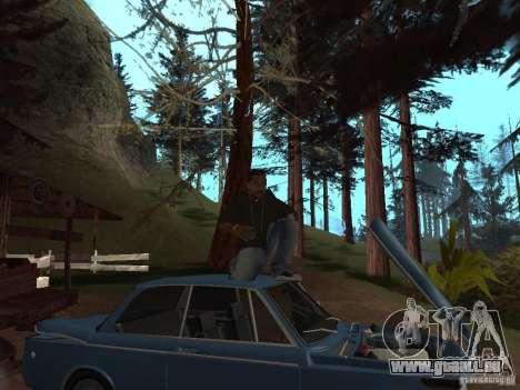 Xzibit pour GTA San Andreas troisième écran