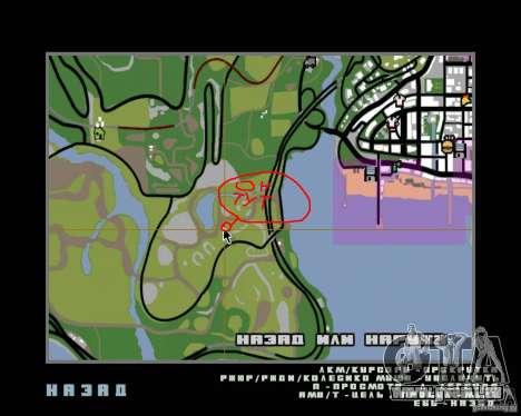 Ours pour GTA San Andreas quatrième écran