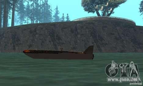 Human Viper pour GTA San Andreas sur la vue arrière gauche