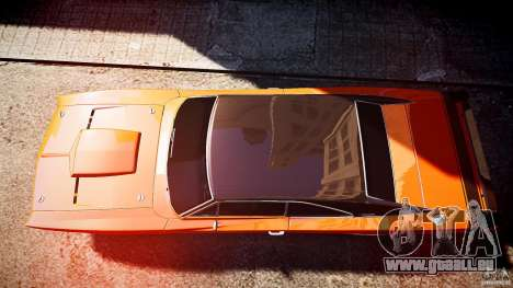 Dodge Charger RT 1969 sport de tun v1.1 pour GTA 4 est un droit