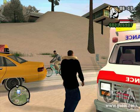 Ambulanz für GTA San Andreas her Screenshot