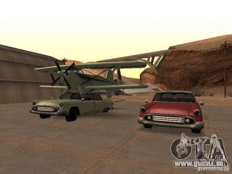 Auto-Flugzeug für GTA San Andreas