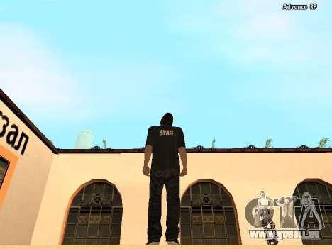 HD Skins personnel pour GTA San Andreas deuxième écran