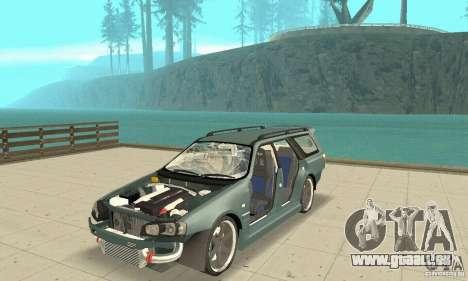 Nissan Stagea GTR pour GTA San Andreas vue de dessous