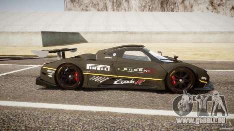 Pagani Zonda R 2009 für GTA 4 Seitenansicht