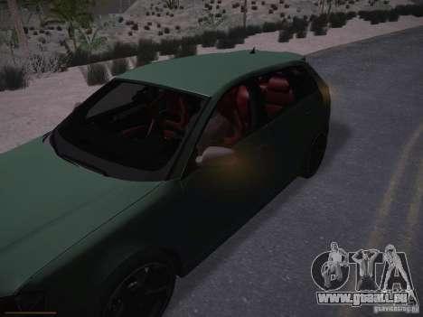 Audi RS3 2011 pour GTA San Andreas salon