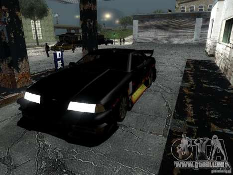Baron de vinyle de Most Wanted pour GTA San Andreas vue de droite